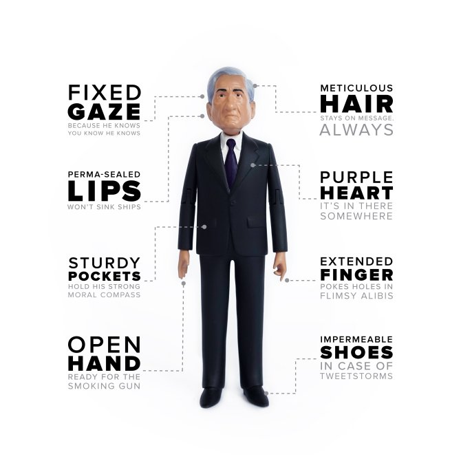 See for Yourself: The New Robert Mueller Action Figure
